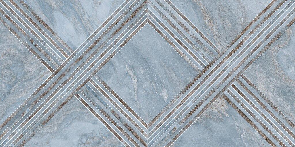 Керамогранит Ceracasa Deco Bluemoon Gloss 49,1X98,2 купить в Москве