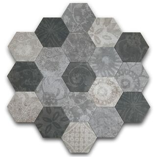 Hexagon Patchword Cold