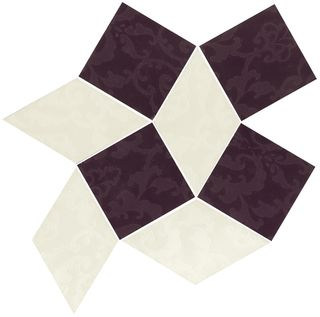 Mosaico Baroque Blackcherry 81177