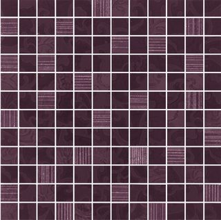 Mosaico Deco Blackcherry 81180