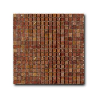 Marble Mosaic Red Travertine
