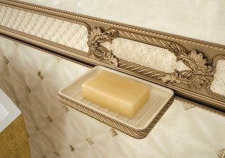 Soap Dish Stucco Gold (мыльница)