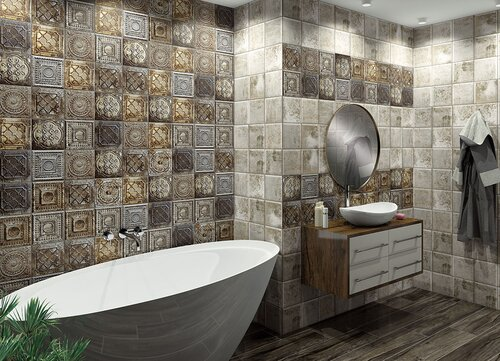 Mainzu Tin Tile